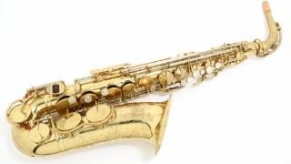 USED ALTO SAXOPHONE   KING ZEP...